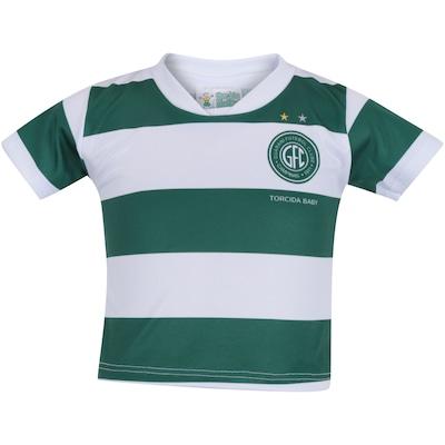 4e8bdb063a Kit de Uniforme de Futebol do Guarani para Bebê  Camisa + Calção - Infantil