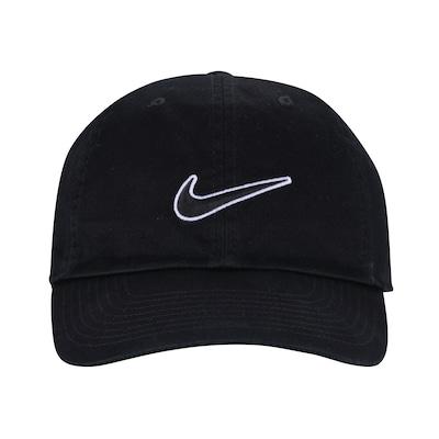 Boné Aba Curva Nike Sportswear H86 Essential Swoosh - Strapback - Adulto