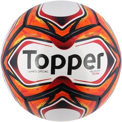 4e2e49688c636 Bola de Futebol de Campo Topper Samba Velocity TD1 2018