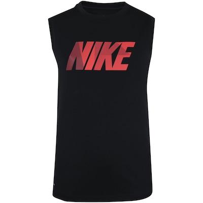 Camiseta Regata Nike Dry Top SL Leg GFX - Infantil