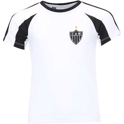Camiseta do Atlético-MG Base Raglan - Infantil