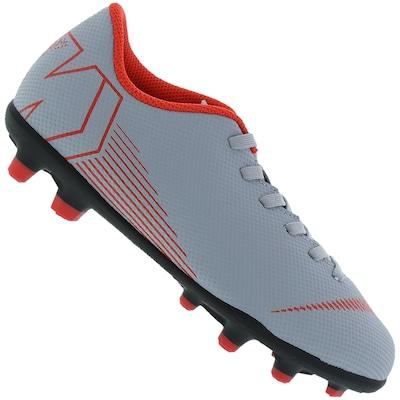 Chuteira de Campo Nike Mercurial Vapor 12 Club GS FG - Infantil