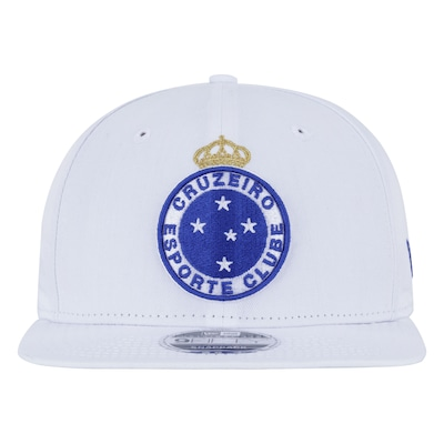 Boné Aba Reta do Cruzeiro New Era 950 OF SN Primary - Snapback - Adulto 62b33eef11a