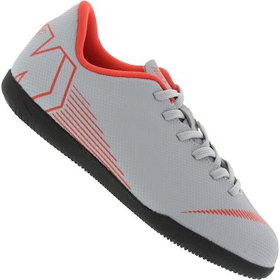 Chuteira Futsal Nike Mercurial Vapor X 12 Academy IC - Infantil 50c464f982c31