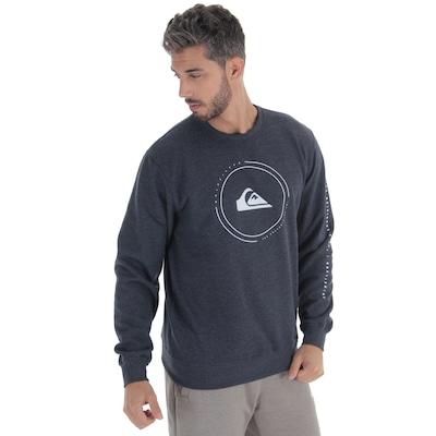 Blusão de Moletom Quiksilver Big Logo - Masculino