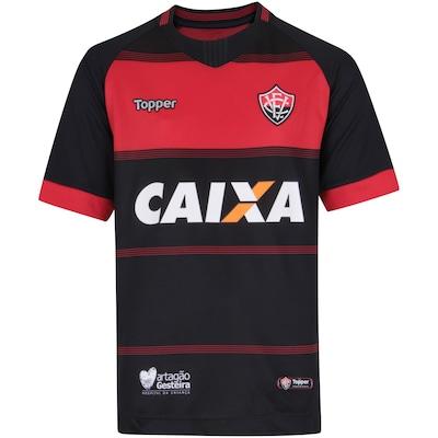 Camisa do Vitória I 2018 Topper - Infantil