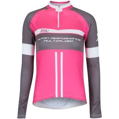Camisa de Ciclismo Manga Longa Refactor 3XU 467 - Feminina
