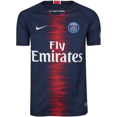 Camisa PSG I 18/19 Nike - Infantil