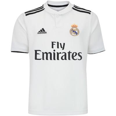 Camisa Real Madrid I 18/19 adidas - Infantil
