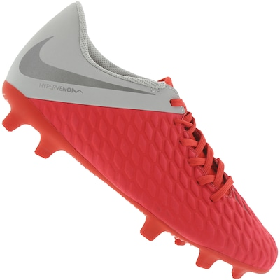 302a160e11 Shopping Smiles - Chuteira de Campo Nike Hypervenom Phantom 3 Club ...
