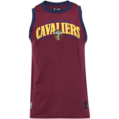 Camiseta Regata New Era Cleveland Cavaliers Versatile Sport Wave - Masculina 15941fc5316