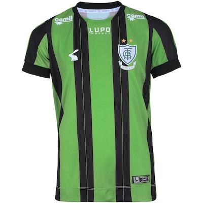 Camisa do América-MG I 2018 nº 10 Lupo - Infantil