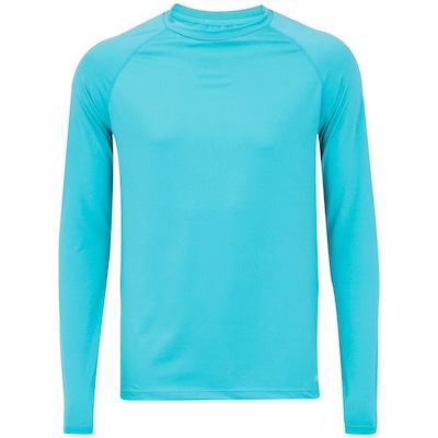 Camiseta Manga Longa com Proteção Solar UV 50+ Oxer New - Masculina