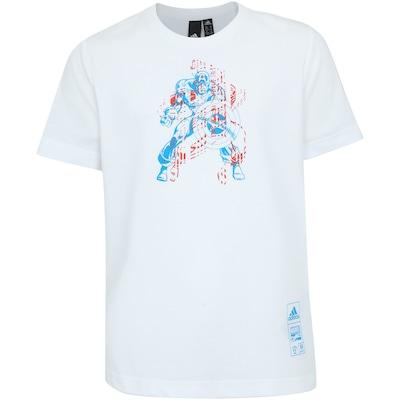 Camiseta adidas Capitão América - Infantil