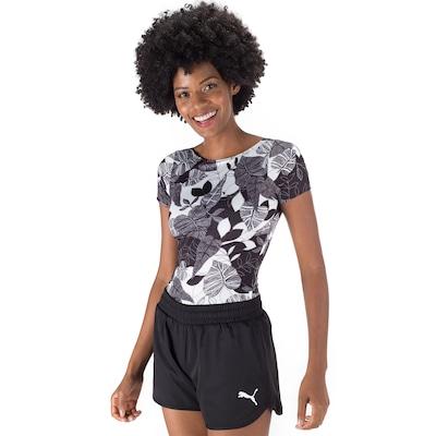Body Fitness Oxer Estampado PB - Feminino