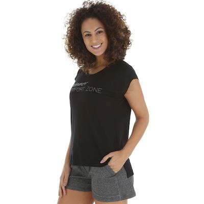 9ecce550af 20%OFF Camiseta Oxer Alongada Ice - Feminina