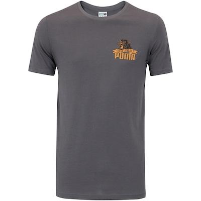 Camiseta Puma Graphic Downtown Flock - Masculina