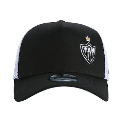 Boné Aba Curva do Atlético-MG New Era 940 SN - Snapback - Trucker - Adulto