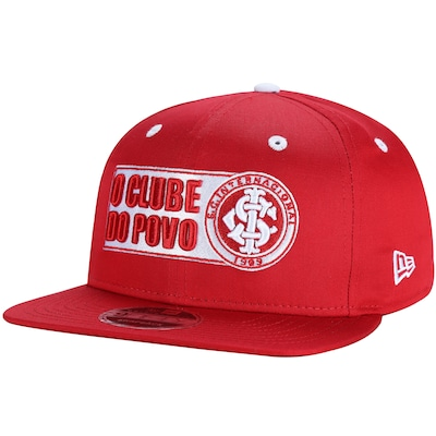 Boné Aba Reta do Internacional New Era 950 Big Art - Snapback - Adulto