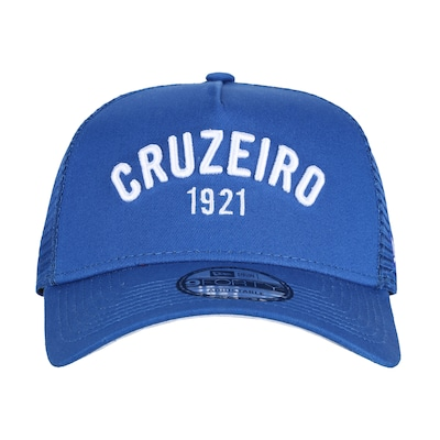 Boné Aba Curva do Cruzeiro New Era 940 SN Classic - Snapback - Trucker - Adulto