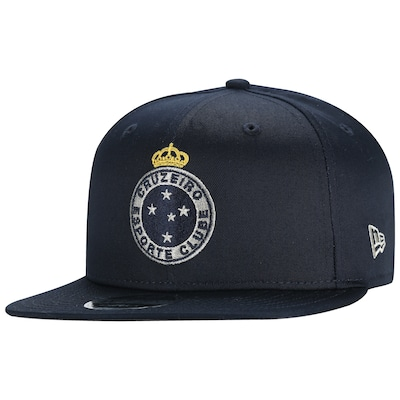 Boné Aba Reta do Cruzeiro New Era 950 OF Art FR - Snapback - Adulto