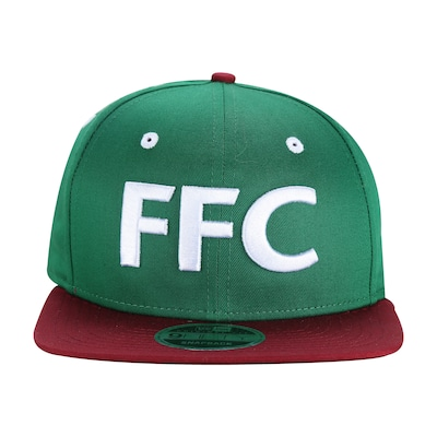 Boné Aba Reta do Fluminense New Era 950 Big Art - Snapback - Adulto