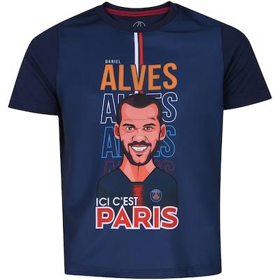 Camiseta PSG Dani Alves Bomache - Infantil