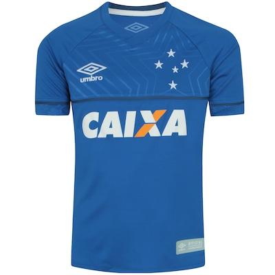 Camisa do Cruzeiro I 2018 Umbro com Patrocínio - Infantil