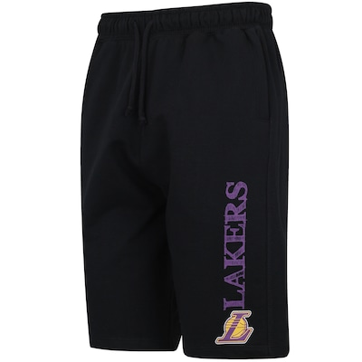 Bermuda de Moletom NBA Los Angeles Lakers Hand - Masculina