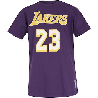 Camiseta NBA Los Angeles Lakers 23 - Infantil
