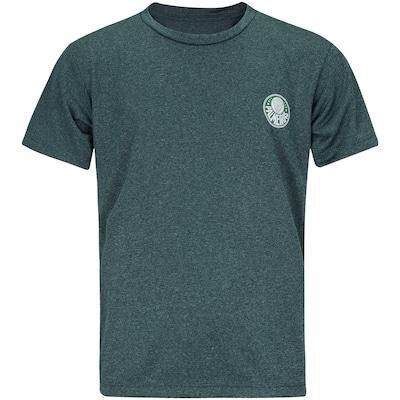 Camiseta do Palmeiras Mescla Meltex - Infantil