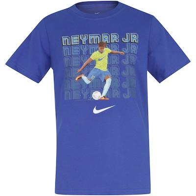 Camiseta Nike Neymar Dry Tee Soccer - Infantil