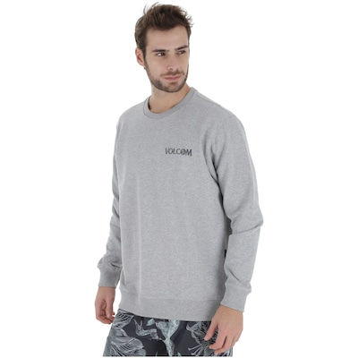 Blusão de Moletom Volcom Careca Center - Masculino