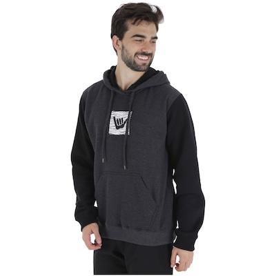 Blusão de Moletom com Capuz Hang Loose Logoshark - Masculino