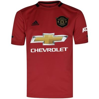 Camisa Manchester United I 19/20 adidas - Infantil