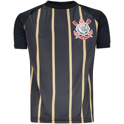 Camiseta do Corinthians Stripes - Infantil