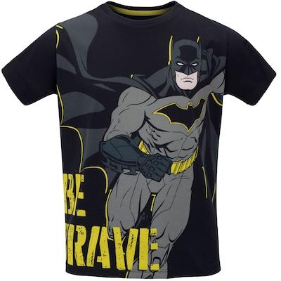Camiseta Liga da Justiça Batman Be Brave - Infantil