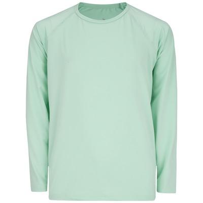 Camiseta Manga Longa com Proteção Solar UV 50+ Oxer Lisa - Infantil