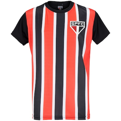 Camiseta do São Paulo 19 Listrado - Infantil