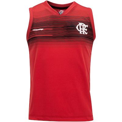Camiseta Regata do Flamengo Melody 19 - Infantil