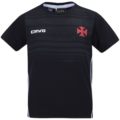 Camiseta do Vasco Dribble 19 - Infantil