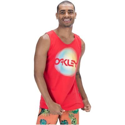 Camiseta Regata Oakley Smooth Gradient Iridium - Masculina