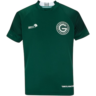 Camisa do Goiás I 2019 Green - Infantil