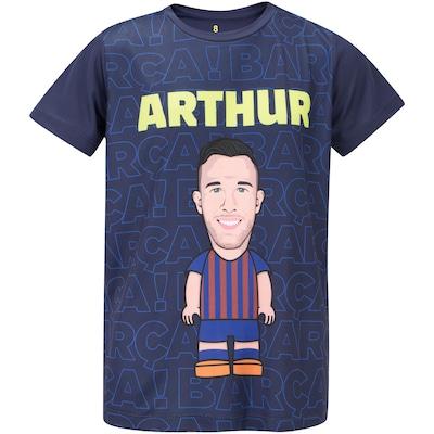 Camiseta Barcelona Arthur - Infantil