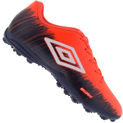 Chuteira Society Umbro Burn TF - Infantil