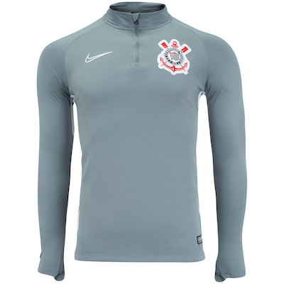 Camisa de Treino Manga Longa do Corinthians 2019 Nike - Masculina