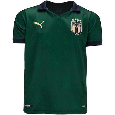 Camisa Itália III 2019 Puma - Infantil