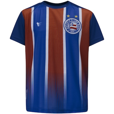 Camiseta do Bahia Tricolor 2019 Super Bolla - Infantil