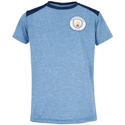 Camiseta Manchester City Dominc - Infantil