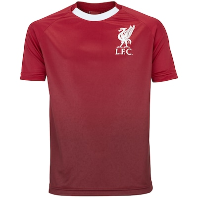 Camiseta Liverpool Degradê - Infantil